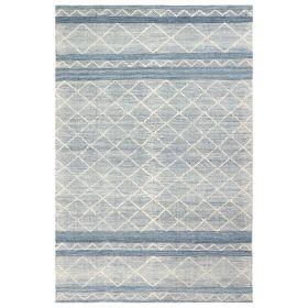 Liora Manne Artista Diamond Stripe Blue