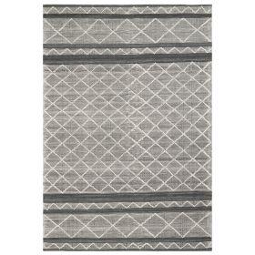 Liora Manne Artista Diamond Stripe Grey