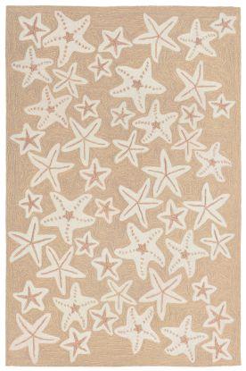 Liora Manne Capri Starfish Neutral