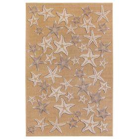 Liora Manne Carmel Starfish Natural