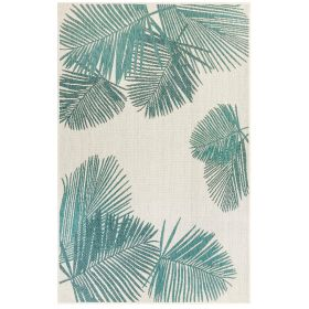 Liora Manne Carmel Palm Blue