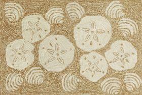 Liora Manne Frontporch Shell Toss Natural