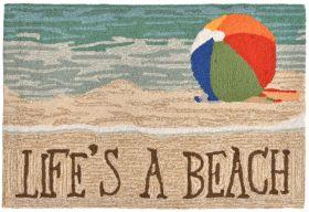 Liora Manne Frontporch Life's A Beach Multi