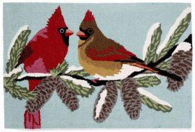 Liora Manne Frontporch Cardinals Blue