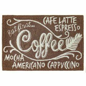 Liora Manne Frontporch Coffee Brown