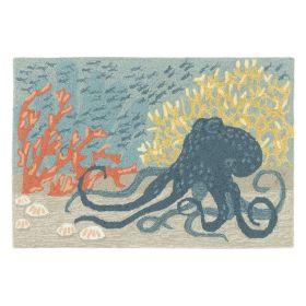 Liora Manne Frontporch Octopus Ocean