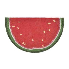Liora Manne Frontporch Watermelon Slice Red