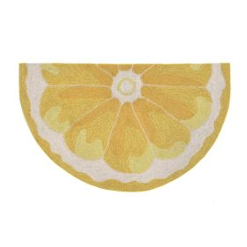 Liora Manne Frontporch Lemon Slice Yellow