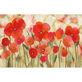 Liora Manne Illusions Poppies Red