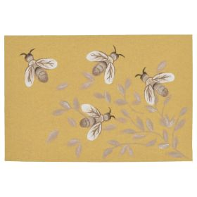 Liora Manne Illusions Bees Honey