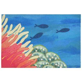 Liora Manne Illusions Reef & Fish Coral