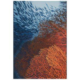 Liora Manne Marina Coral Ocean