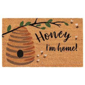 """Liora Manne Natura Honey I'm Home Natural 1'6"""" x 2'6"""""""
