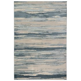 Liora Manne Soho Brushstroke Blue