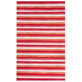 Liora Manne Visions II Painted Stripes Warm
