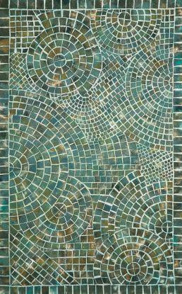 Liora Manne Visions V Arch Tile Blue