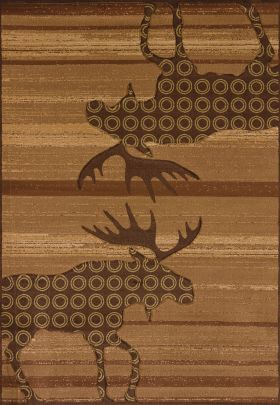 United Weavers Designer Contours Cem Urban Lodge Toffee
