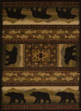 United Weavers Affinity Black Bears Lodge