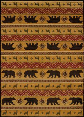 United Weavers Affinity Nordic Bear Multi