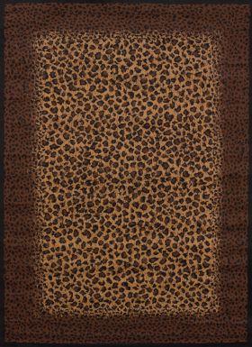 "United Weavers Legends Leopard Skin Multi 5'3"" x 7'2"""