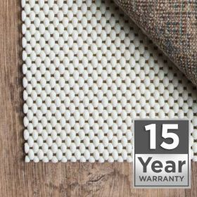 15 Year Warranty Area Rug Pad Pre-packaged
