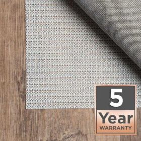 5 Year Warranty Area Rug Pad Pre-packaged