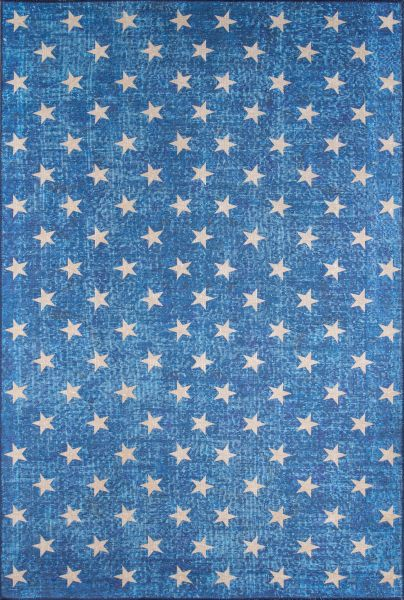 Novogratz District Dis-7 Contemporary Stars Blue Collection
