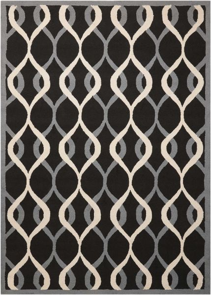 Nourison Decor Black