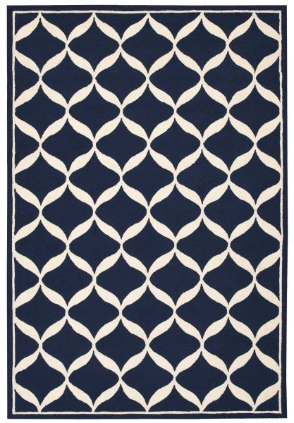 Nourison Decor Navy/White