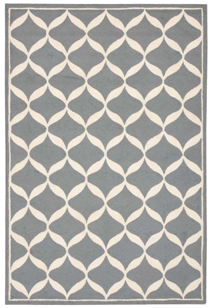 Nourison Decor Slate/White