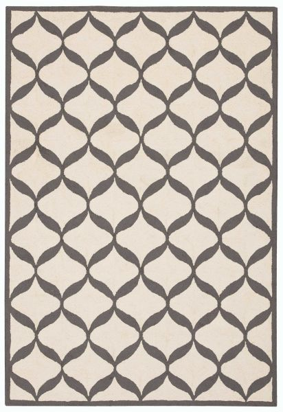 Nourison Decor White/Light Grey