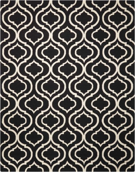 Nourison Linear Black/White Collection