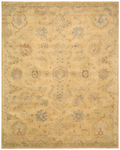 Nourison Jaipur Traditional, Rustic/Vintage, Light Gold Collection