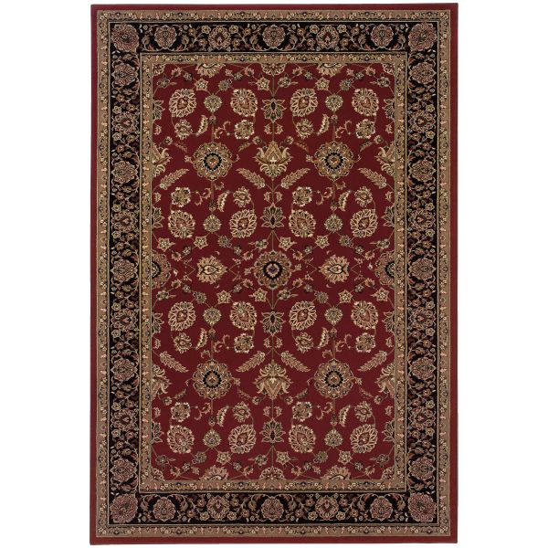 Oriental Weavers Ariana 271c Red Collection