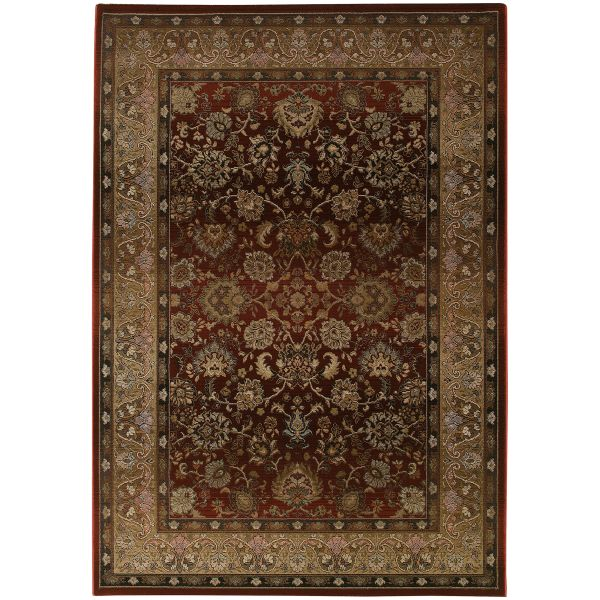 Oriental Weavers Generations 3434r Red Collection