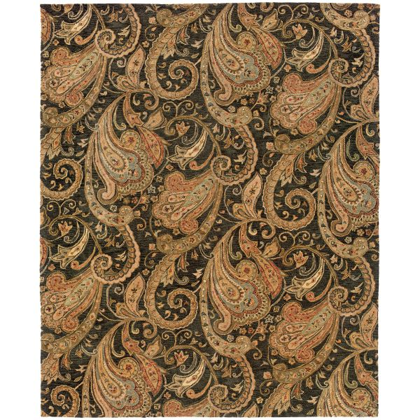 Oriental Weavers Huntley 19104 Black Collection