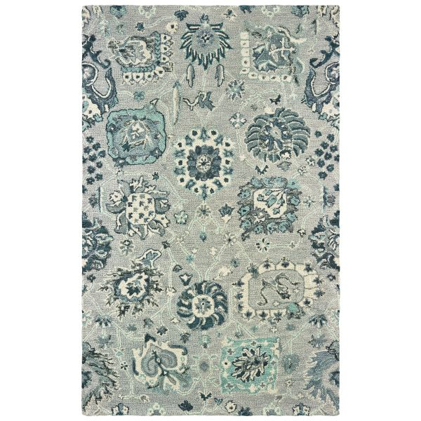 Oriental Weavers Zahra 75508 Grey
