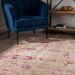 Dalyn Antiquity Aq1 Ivory / Pink Room Scene