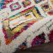 Nourison Nomad Ivory/Multicolor Room Scene