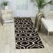 Nourison Linear Black/White Room Scene