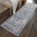Nourison Rustic Textures Grey Room Scene