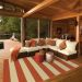 Oriental Weavers Riviera 4768b Orange Room Scene