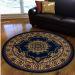 Radici USA Castello 1191 Navy Room Scene