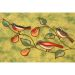 """Liora Manne Illusions Song Birds Green 1'8"""" x 2'6"""" Collection"""