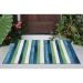 Liora Manne Visions II Painted Stripes Cool Room Scene