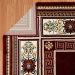 "United Weavers Antiquities Oriental Border Ruby 2'3"" x 7'2"" Runner Room Scene"
