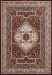 "United Weavers Antiquities Qum Diamond Ruby 2'3"" x 7'2"" Runner Collection"