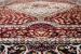 "United Weavers Antiquities Qum Diamond Ruby 2'3"" x 7'2"" Runner Room Scene"