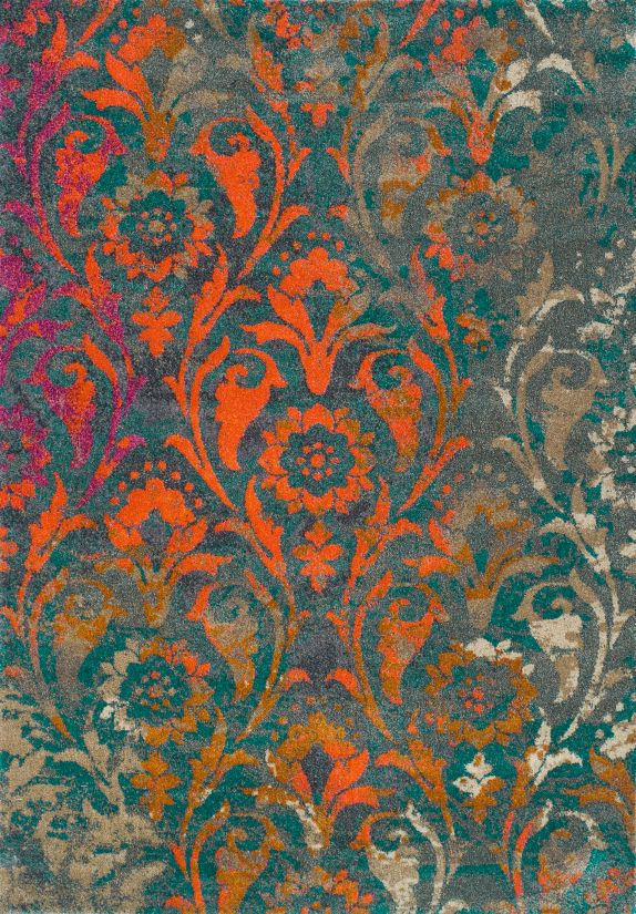 Dalyn Antiquity Aq160 Teal Collection