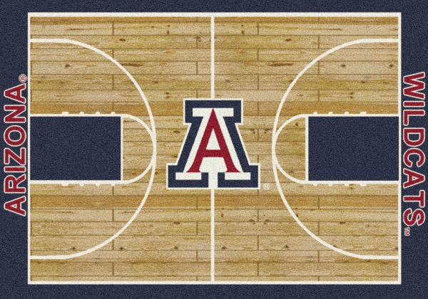 Milliken College Home Court Arizona Blue/Red/Tan Collection